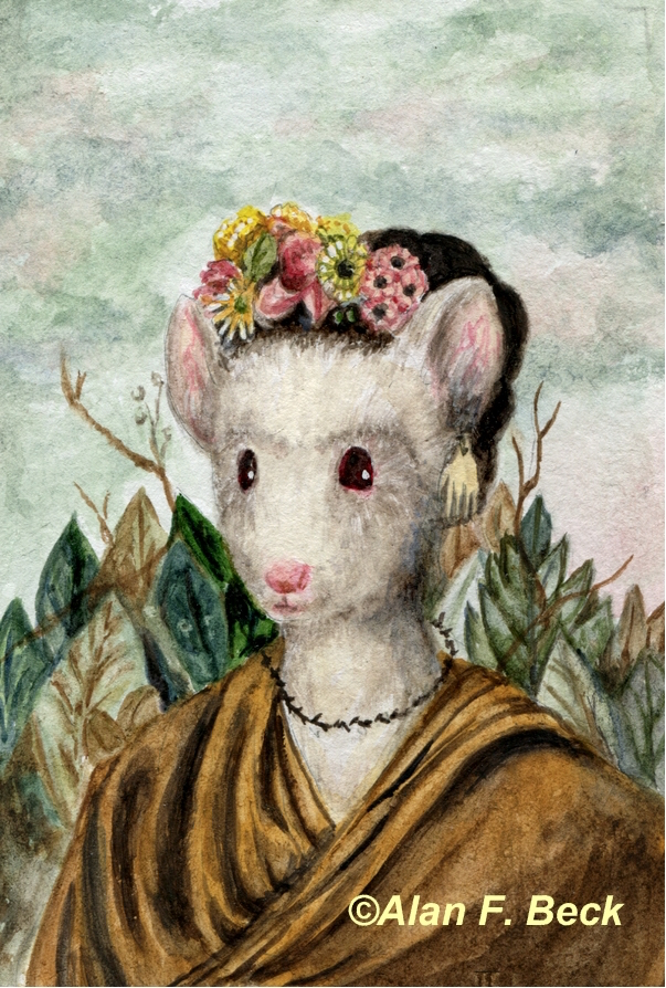 The Prosperpine Mouse art by Alan F. Beck