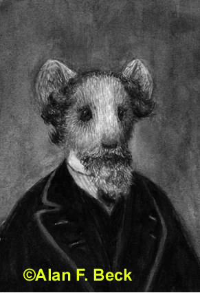 Charles Mouse Dickens by Alan F. Beck