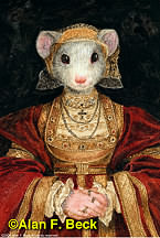 Mouse Anne of Cleves by Alan F. Beck