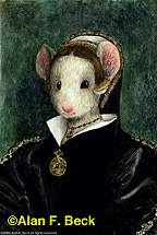 Catherine Mouse Howard by Alan F. Beck