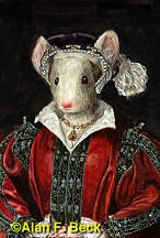 Catherine Mouse Parr by Alan F. Beck